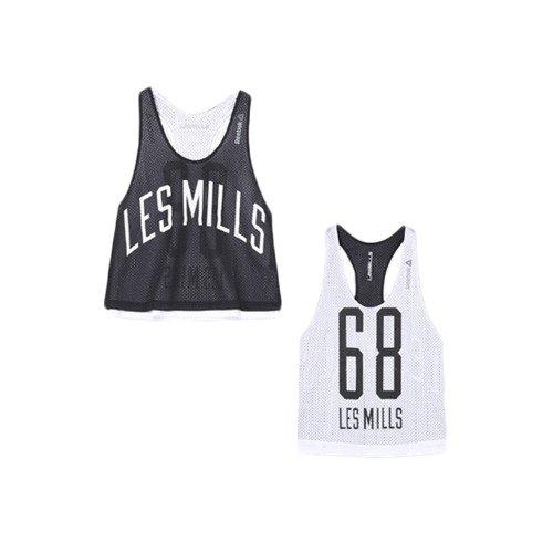 Bezrękawnik damski Reebok Les Mills Mesh treningowy