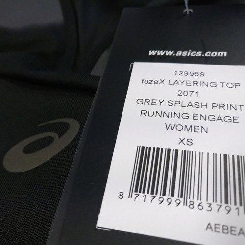 Biustonosz Asics FuzeX Layering stanik top termoaktywny sportowy treningowy