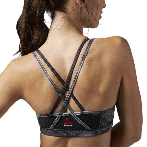 Biustonosz Reebok One Series stanik sportowy termoaktywny fitness