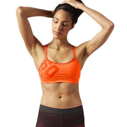 Biustonosz Reebok One Series stanik top sportowy termoaktywny fitness