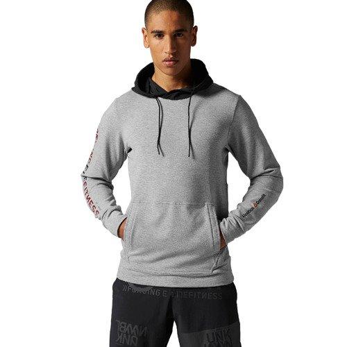 Bluza Reebok CrossFit Fleece męska dresowa sportowa z polarem z kapturem