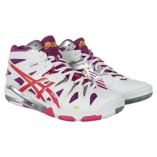 Buty halowe Asics Gel-Sensei 5 MT damskie za kostkę do siatkówki tenisa piłki ręcznej