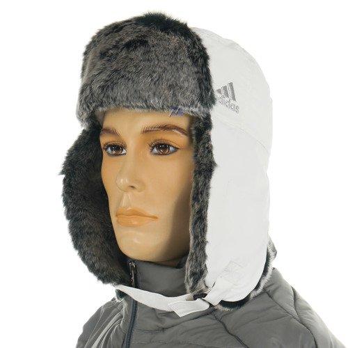 Czapka zimowa Adidas Russian CAP unisex uszatka pilotka futrzana