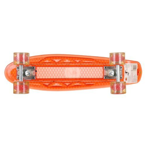 Deskorolka SMJ Sport fiszka deska skate świecąca led na USB