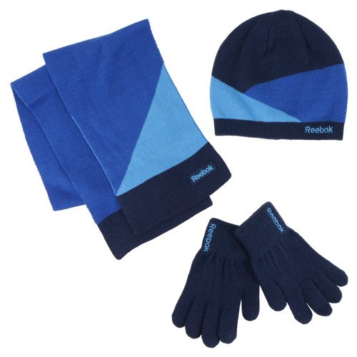 Komplet zimowy Reebok Christmas czapka + rękawiczki + szalik