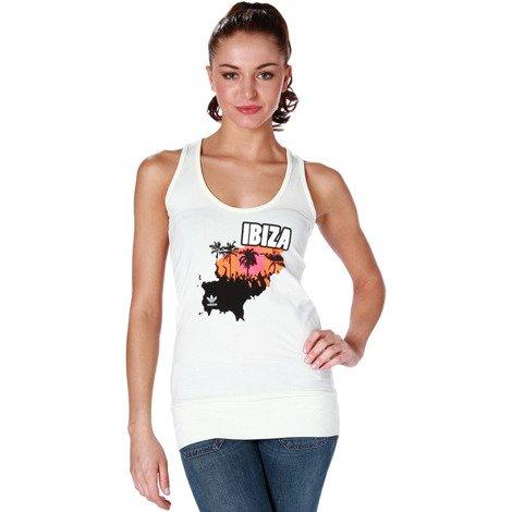 Koszulka Adidas Ibiza Tank sportowa damska bokserka