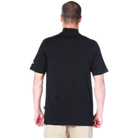 Koszulka Adidas SS Mock męski golf sportowy krótki rękaw