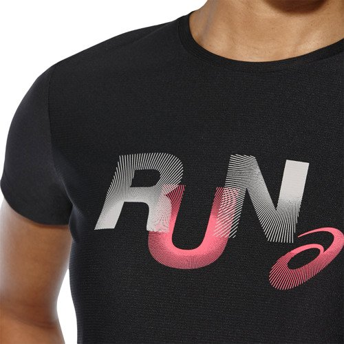 Koszulka Asics Graphic SS Top damska t-shirt sportowy termoaktywny