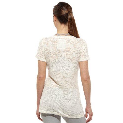 Koszulka Reebok Burnout damska t-shirt sportowy na siłownie