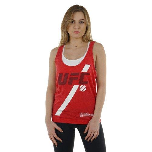 Koszulka Reebok Combat UFC Tank damska bokserka t-shirt top sportowy