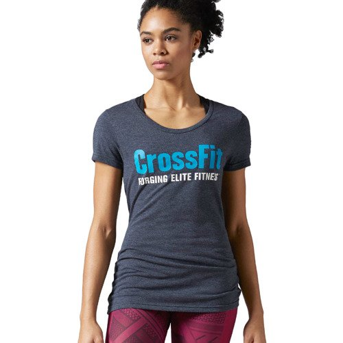 Koszulka Reebok CrossFit Graphic Forging Elite Fitness damska t-shirt sportowy