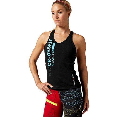 Koszulka Reebok CrossFit Strength damska top bokserka sportowa termoaktywna