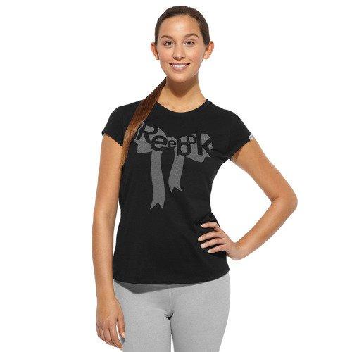 Koszulka Reebok GT Ribbon t-shirt bawełniany z nadrukiem