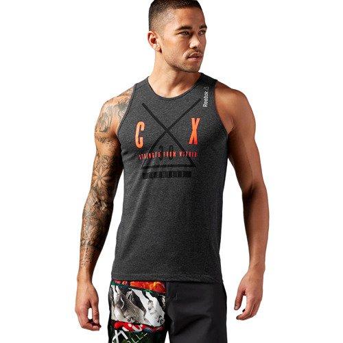 Koszulka Reebok Les Mills Poly męska bezrękawnik top termoaktywny