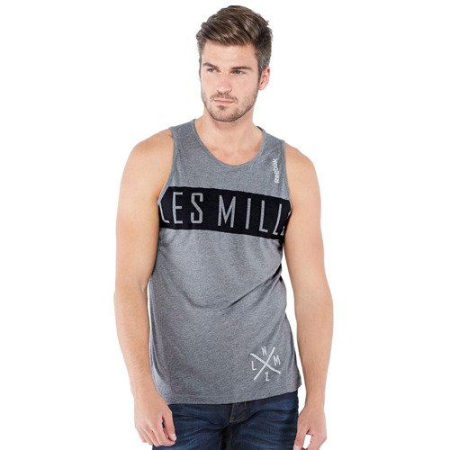 Koszulka Reebok Les Mills męska bez rękawów top bezrękawnik termoaktywny