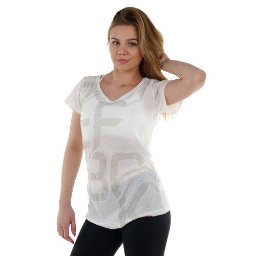 Koszulka Reebok Studio Graphic 2 damska t-shirt sportowy termoaktywny
