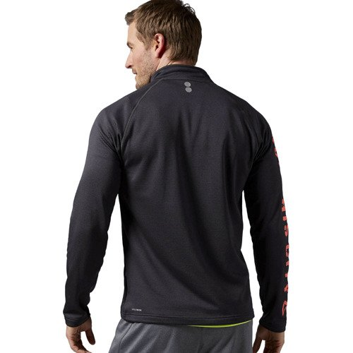 Koszulka z długim rękawem Reebok Running Essentials 1/4 Zip męska termoaktywna