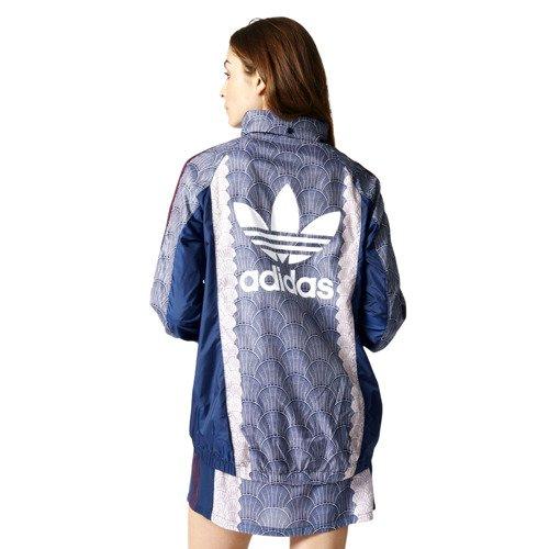 Kurtka Adidas Originals Shell Windbreaker damska sportowa wiatrówka z kapturem