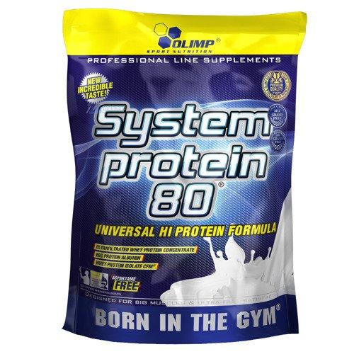 OLIMP System Protein 80 w proszku 700g odżywka białkowa