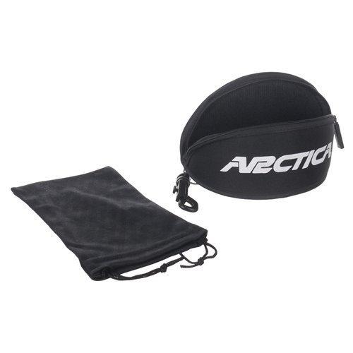 Okulary przeciwsłoneczne Arctica S-255C lustrzanki sportowe UV400 + etui i pokrowiec