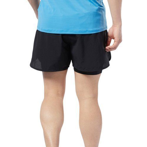 Spodenki 2w1 Reebok One Series Running Epic męskie szorty termoaktywne treningowe