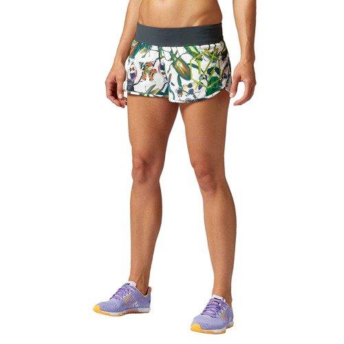 Spodenki Reebok CrossFit damskie szorty sportowe termoaktywne