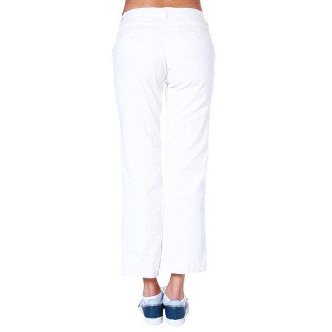 Spodnie 7/8 Adidas Stretch damskie cygaretki plażowe bawełniane na lato