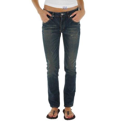 Spodnie Adidas Cupie Fit damskie jeansy dżinsowe