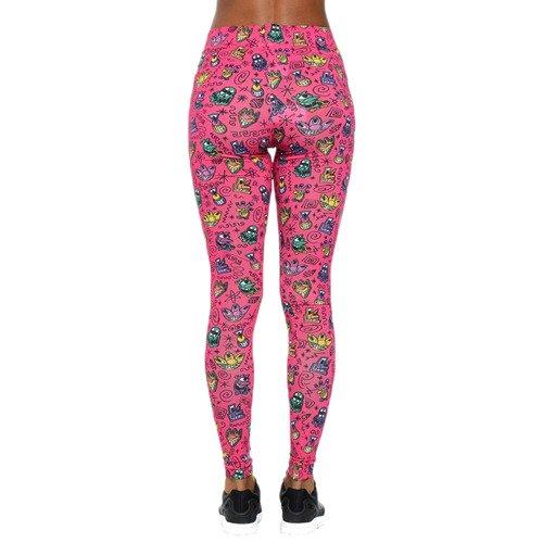 Spodnie Adidas Originals Jeremy Scott KS Print damskie legginsy sportowe