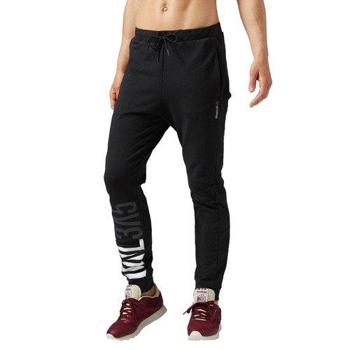 Spodnie Reebok Workout CS Cotton damskie dresowe sportowe