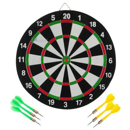 Tarcza do Dartsa Paper Dart Game dwustronna