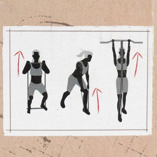 Taśma oporowa Reebok CrossFit Power Band Extra Strong do ćwiczeń
