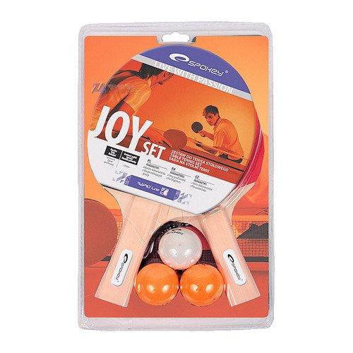 Zestaw do tenisa stołowego Spokey Joy Set 2 paletki 3 piłeczki